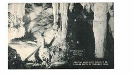 "DUBUQUE, Iowa, USA, ""Lott's Wife"" Formation, Crystal Lake Cave, Pre-1920 Postcard - Dubuque"