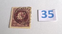 Grand Montenez  (1929) COB 292B Oblitéré à 15% - 1929-1941 Grand Montenez