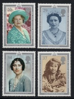 GREAT BRITAIN 1990 90th Birthday Of The Queen Mother: Set Of 4 Stamps UM/MNH - Ungebraucht