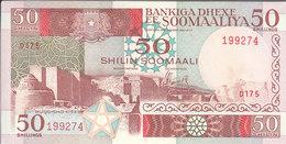 SOMALIA 50 SHILLINGS 1989 P 34d AU/UNC */* - Somalia