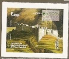 Portugal ** & CEPT Europe, Castles, Fortaleza De São João Baptista Do Pico, Funchal 2020 (6869) - 1910-... Republik