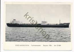 ESSO MüNCHEN - Turbinetanker [AA30-0.366 - Petroliere