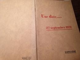 EN L HONNEUR DE PIERRE BENOIT /SAINT CERE /HUISMAN /LEON BERARD / - Livres, BD, Revues