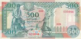 SOMALIA 500 SHILLINGS 1989 P-36a VF USED */* - Somalia