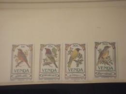 VENDA - 1985 UCCELLI/PIANTE 4 VALORI - NUOVI(++) - Venda