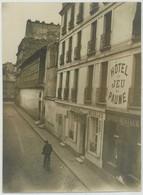 Tirage Argentique Circa 1910. Versailles. Hôtel Du Jeu De Paume. - Lieux