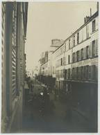 Tirage Argentique Circa 1910. Versailles. Une Rue Animée. - Lieux