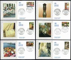 Y/T  N° 3767/76 S/ 10 FDC  - Oblitérations Diverses - Portraits De Régions. - 2000-2009