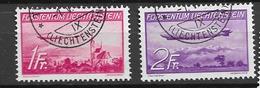 1936 USED Liechtenstein Michel 149-50 - Used Stamps