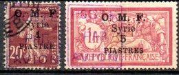 Syrie: Yvert N° PA 4/5° - Syria (1919-1945)