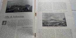 PRIMAVERA ITALICA 1861 NUMERO UNICO 1911 GAETA BETTINO RICASOLI BROLIO IN CHIANTI - Libros, Revistas, Cómics