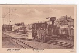 LE GARE MILITAIRE DE KRIJGSTATIE1923 - Elsenborn (camp)
