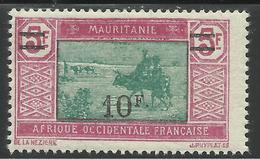 MAURITANIE 1927 YT 55** - Neufs