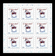 Russia 2019 Mih. 2799 New Year (M/S) MNH ** - Unused Stamps
