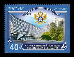 Russia 2019 Mih. 2800 Foreign Intelligence Service MNH ** - Unused Stamps