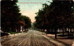 Connecticut Waterbury Central Avenue 1910 - Waterbury