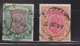 INDIA Scott # 120-1 Used - KGV - 1911-35 King George V