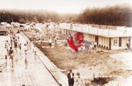 Photo Carte LANAKEN - CAMPING Zonneterras En Cabines - Waterval - Olympisch Zwembad - Lanaken