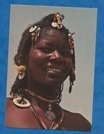 CPM République De Gambie The Gambia - Femme Africaine En Portrait  Gambian Girl Collier Amulette Non Voyagée - Non Classés