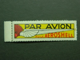 Vignette Par Avion Aeroshell - Erinofilia