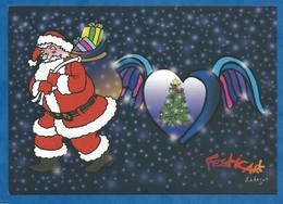 CPM Festicart' Enghein Les Bains Illustrateur Ledogar - Tirage 200 Saint Nicolas Joyeux Noel 2016/2017 - Borse E Saloni Del Collezionismo