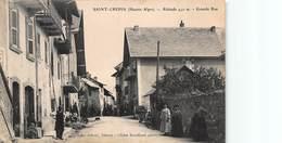 CPA SAINT-CREPIN ( Htes Alpes ) - Altitude 940 M - Grande Rue - Autres Communes
