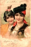 Femme Illustrée 391, Couple Femmes Espagnole - 1900-1949