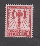 France - Timbres De Service - Neuf ** Francisque - N°8 - 1943 -TB - Dienstpost