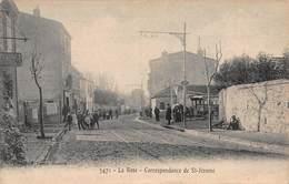 CPA La Rose - Correspondance De St-Jérome - Marseille