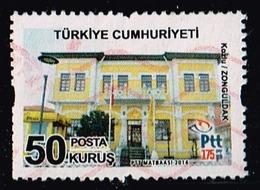 Türkei 2016,Michel# 4235 O Turkish Postal Buildings: Zonguldak - 1921-... Republiek