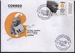 Argentina - 2019 - FDC - Mahatma Ghandi - Mahatma Gandhi