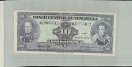 BILLET Banque  Banco Central De Venezuela 10   Bolivares  1973 -Janv 2020  Clas Gera - Venezuela