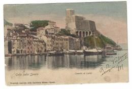 2738 - GOLFO DELLA SPEZIA CASTELLO DI LERICI 1905 - La Spezia