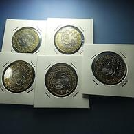 Portugal 5 Coins 200 Escudos 1995 ONU - Portugal