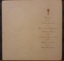 1927 RECUERDO DE PRIMERA COMUNIÓN - Imágenes Religiosas