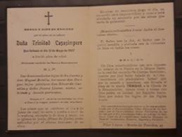 ORACIÓN DE 1927. - Imágenes Religiosas