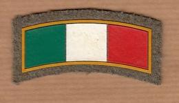 Italia Tricolore Patch NO PAYPAL (FM174) - Ecussons Tissu