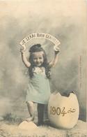 "/ CPA BERGERET ""Je Serai Bien Gentille, 1904"" - Bergeret"