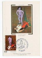 Carte Maximum 1984 - HELION Le Peintre Piétiné Par Son Modèle - YT 2343 Du 01/12/1984 - 80 Amiens - 1980-89
