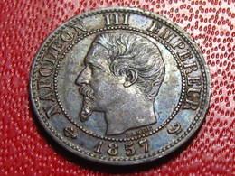 France - Un Centime 1857 W Lille Napoléon III 3436 - A. 1 Centime