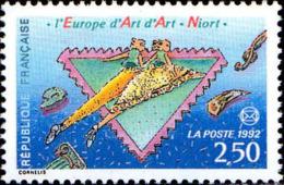 France Poste N** Yv:2758 Mi:2903 L'Europe D'Art D'Art Niort - France
