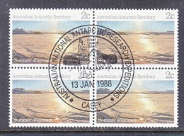 ATT L60X4  (o)  FDC Cd. EXPEDITIONS At CASEY - Used Stamps