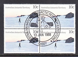ATT L62 X 4  (o)  FDC Cd. EXPEDITIONS At CASEY - Used Stamps