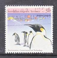 ATT L 76 B    (o)  EMPEROR  PENGUINS - Used Stamps