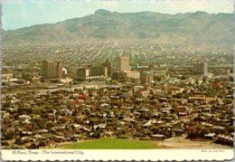 Texas El Paso Skyline Aerial View - El Paso