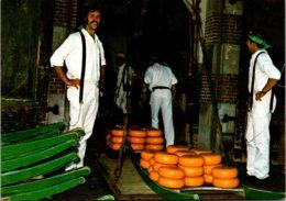 Netherlands Alkmaar Het Wegen Van De Kaas Cheese Makers - Alkmaar