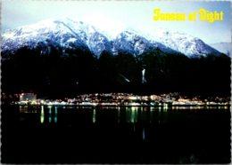 Alaska Juneau Skyline At Night - Juneau