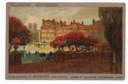75 - Carte Transparente - PARIS - Jardin Et Palais Du Luxembourg - 1929 (O93) - Francia