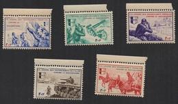 FRANCE 1942 Vignettes LVF Légion Des Volontaires Français Série BORODINO Neufs - Franchigia Militare (francobolli)