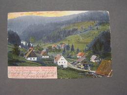 Schneeberg Kiessengrund , Sneznik ..Seittenbergnach Berlin 1904 - Tschechische Republik